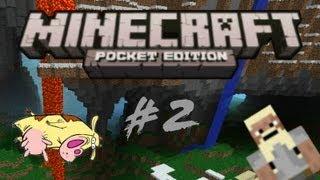 #2 - Let's Play Minecraft Pocket Edition - Kühe und Bäume sollen sterben gehen
