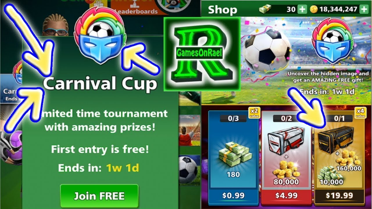 Football Strike Carnival Cup Tournament Win Ing Best Deal Vip Bags Opening