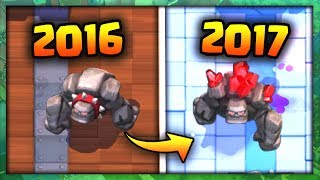 7 Cards That Look Different In Clash Royale (2016 - 2017)