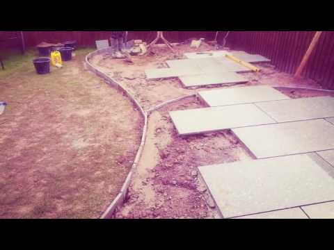 How To Lay A Granite Patio With Johnyboy