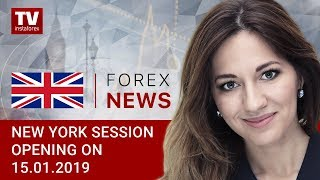 InstaForex tv news: 15.01.2019:  China to roll out measures for growth: EUR, USD, DJIA