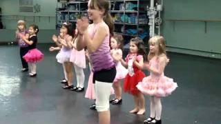 Ava's Tap Dance Routine