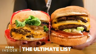 33 Burgers To Add To Your Bucket List | The Ultimate List