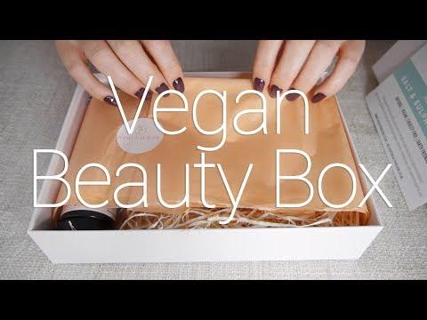 Peachiebox ASMR   Vegan Beauty Box   Lids, Tissue, Tapping