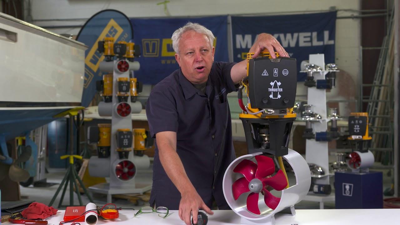 Bow Thruster maintenance part 1 on