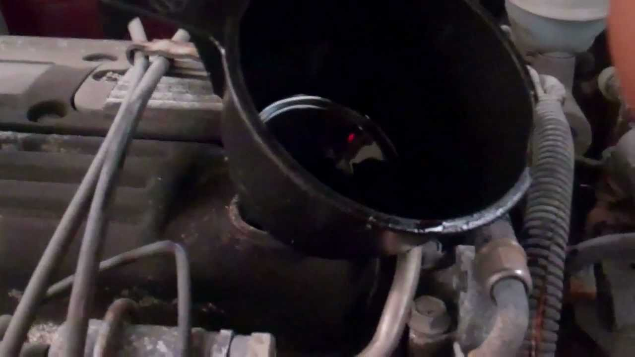 How To Change The Oil In A Pontiac Sunfire Youtube 2000 Grand Prix Engine Diagram Water Pump On 3 8 Motor