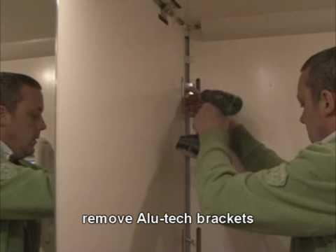 Alu-Tech side panel removal