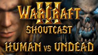 WarCraft 3 Replay Shoutcast Undead vs Human #66 HD Deutsch
