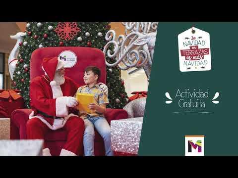 Papa Noel Ya Llegó A Terrazas De Mayo Youtube