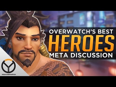 The BEST Heroes In Overwatch - META DISCUSSION