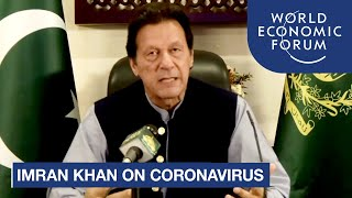 Imran Khan: The world must cooperate to avoid the economic destruction of the coronavirus pandemic