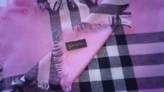 Обзор шарф Burberry 36134  интернет -магазин Luxthing