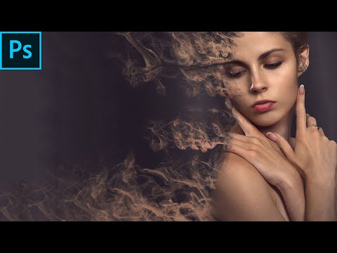 SMOKE DISPERSION EFFECT IN PHOTOSHOP | PHOTOSHOP EFFECT | PHOTOSHOP TUTORIAL thumbnail
