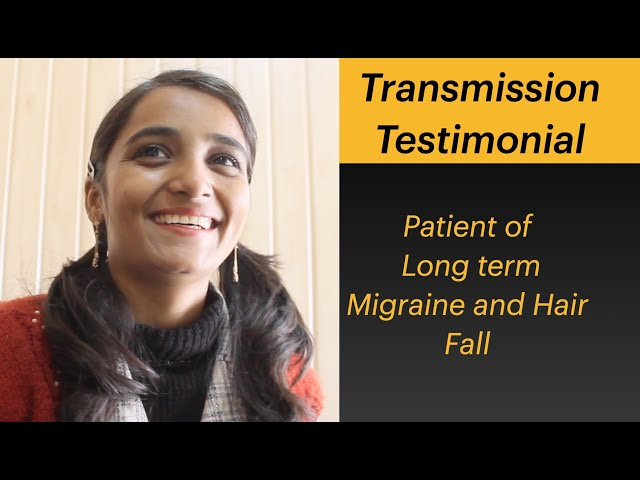 Patient of Migraine and Hair Fall