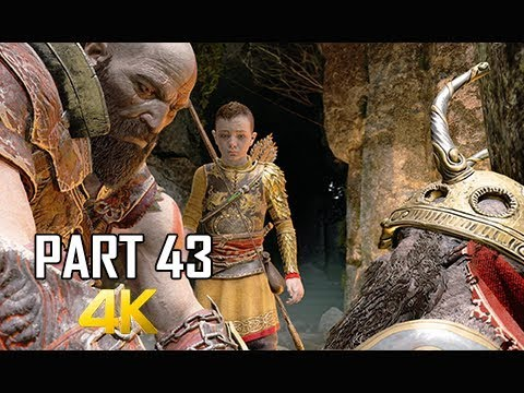 GOD OF WAR Gameplay Walkthrough Part 43 - DWARVEN KING (PS4 PRO 4K Commentary 2018)