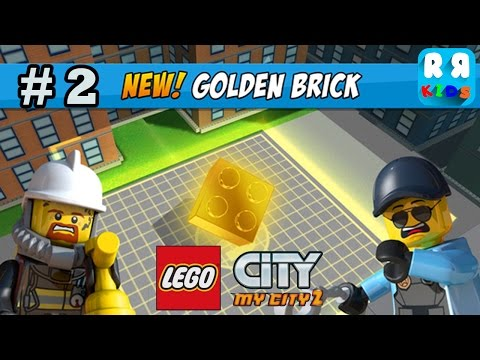 LEGO City My City 2 - New Collectable Item Golden Bricks Part 2