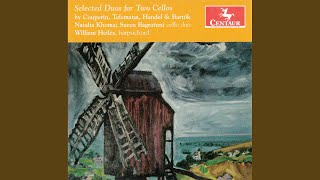 12 Canons melodieux, ou 6 sonates en duo: Sonata in G Minor, TWV 40:119 (arr. for 2 cellos) :...