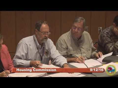Housing Committee Meeting 09.12.16