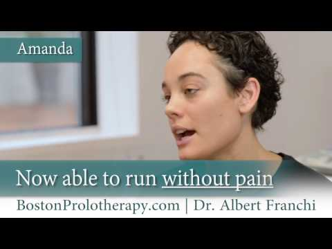 Boston Prolotherapy testimonial from Amanda