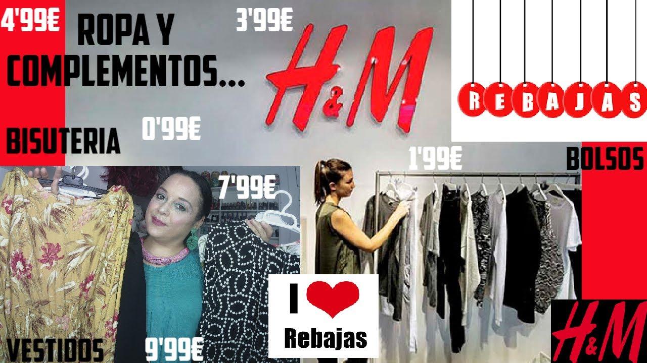 REBAJAS EN H&M!! ROPA Y COMPLEMENTOS!!