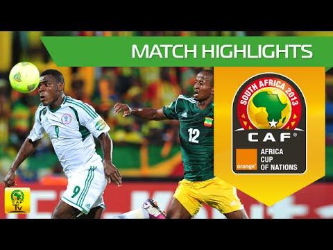 Ethiopia - Nigeria   CAN Orange 2013   29.01.2013