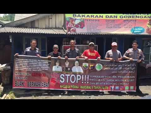 Warga Desa Gendang Timburu Kec. Sungai Durian Kab. Kotabaru Menolak HOAX & Ujaran Kebencian