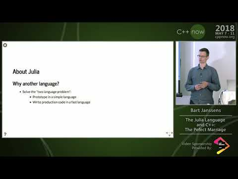 "C++Now 2018: Keno Fischer & Bart Janssens ""The Julia Language ..."