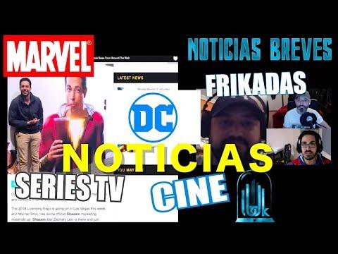 ¡¡NOTICIAS BREVES!! DC MARVEL CINE FRIKADAS
