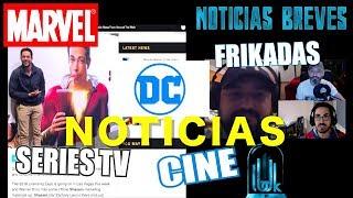 NOTICIAS DC - MARVEL - CINE - SERIES TV - FRIKADAS