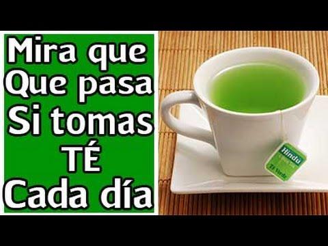 para que sirve el te de verde