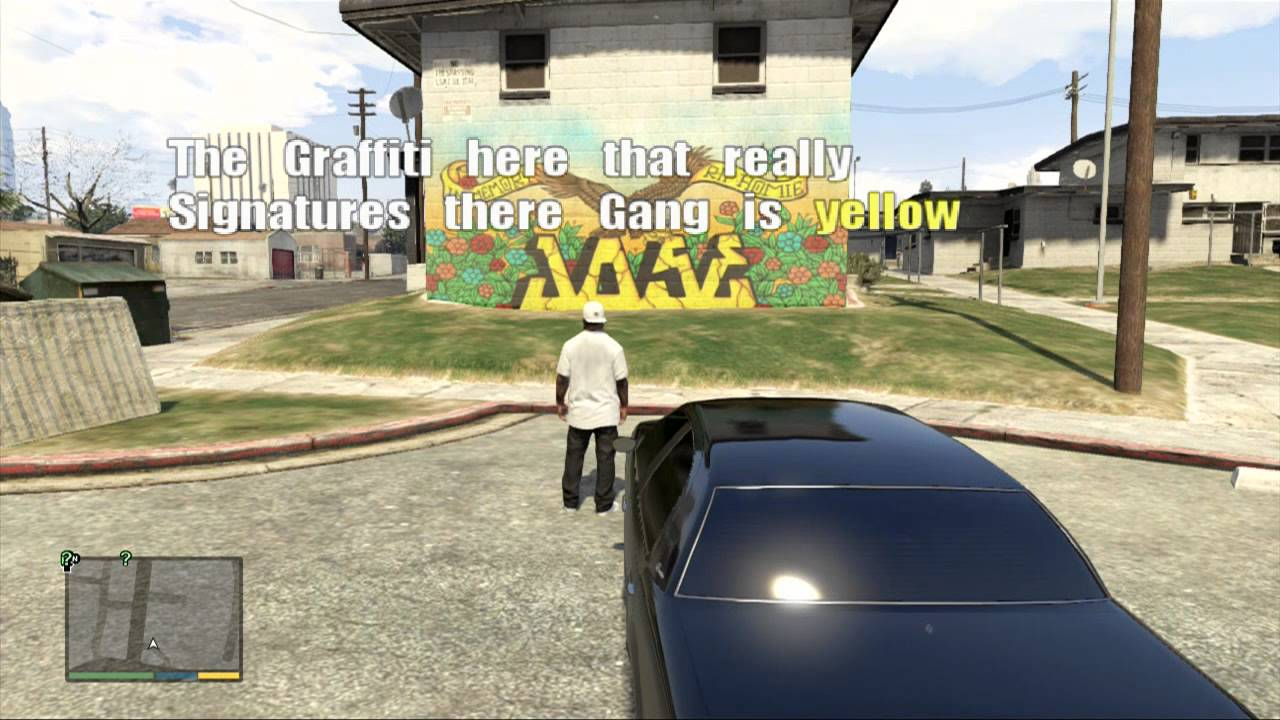 Gta v gang graffiti