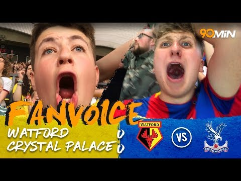 Watford secure the point in nail-biter vs Palace! | Watford 0-0 Crystal Palace | 90min FanVoice