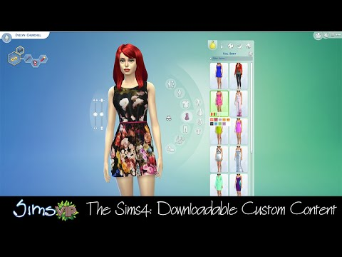 The Sims 4: Downloadable Custom Content