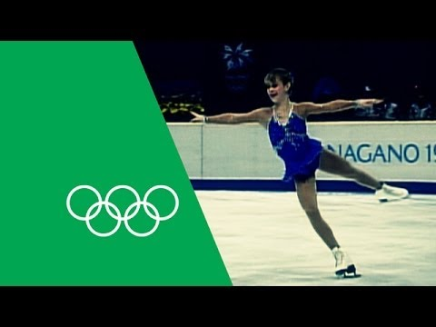 15 Year Old Tara Lipinski Wins Figure Skating Gold | Olympic Rewind