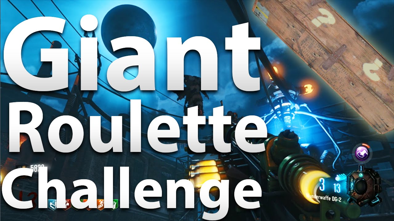 Giant roulette