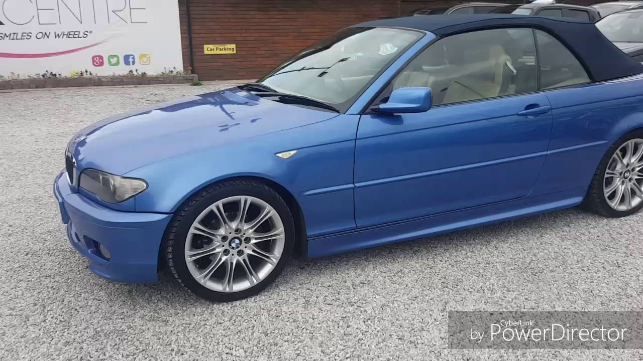2004 bmw 318ci convertible review the car centre - YouTube