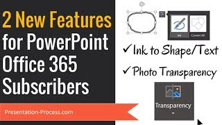 2 Brand New Features in PowerPoint 365 (Cool Tricks)