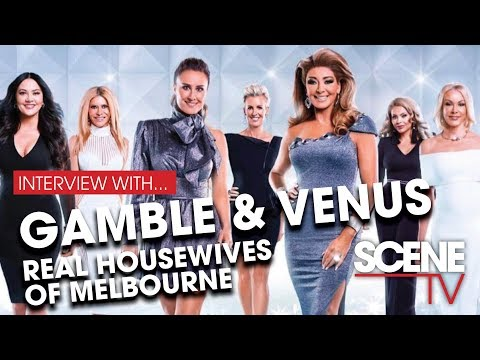 Gamble & Venus from Real Housewives of Melbourne Housewives - season 4