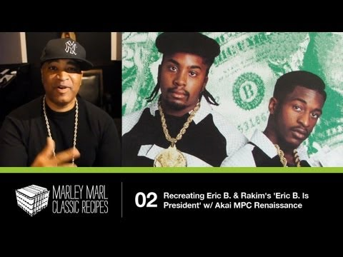 Eric B & Rakim - Eric B is president - YouTube