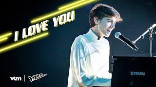 Robin - 'I Love You' | The Blind Auditions | The Voice van Vlaanderen | VTM