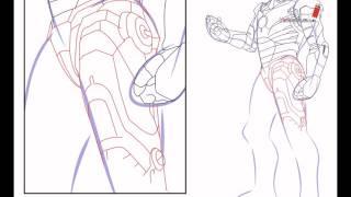 как нарисовать железного человека поэтапно(Это видео создано в редакторе слайд-шоу YouTube: http://www.youtube.com/upload., 2016-06-17T03:49:31.000Z)