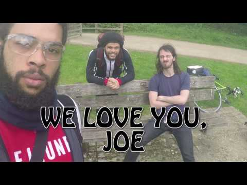 Vegan Chains London to Birmingham Cycle Tour Part 2/5 We Love You, Joe