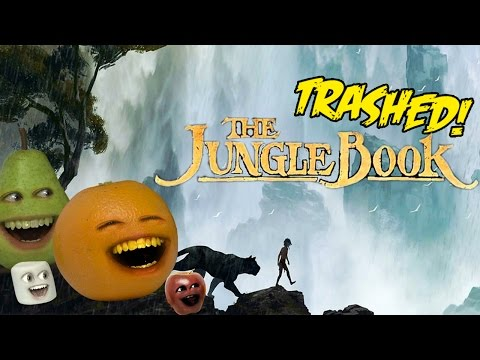 Annoying Orange - THE JUNGLE BOOK TRAILER Trashed!!