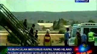 Repeat youtube video ANEH! Pesawat Mendarat Setelah 35 Tahun Menghilang