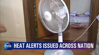 HEAT ALERTS ISSUED ACROSS NATION(News Today) l KBS WORLD TV 210723