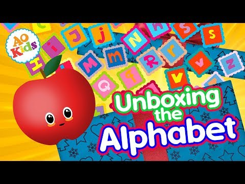 Unbox the Alphabet   Alphabet Song   Learn Your Letters (Kid's Phonics Song)