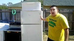 Fridge and Freezer Removal and Hauling for Disposal Texas Only $45