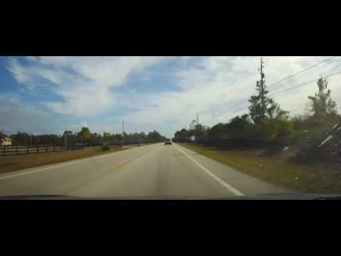 Driving on Florida State Road 415 from Port Orange to Sanford