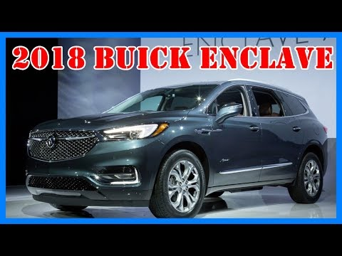 2018 buick enclave redesign and release date youtube. Black Bedroom Furniture Sets. Home Design Ideas