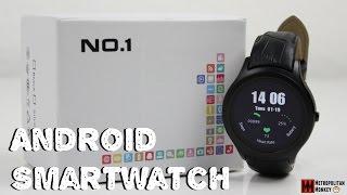 No.1 D5 Android Smartwatch - Unboxing & Quick Hands-On [Deutsch]